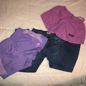 Girls Bottoms bundle size 5/6 true religion etc